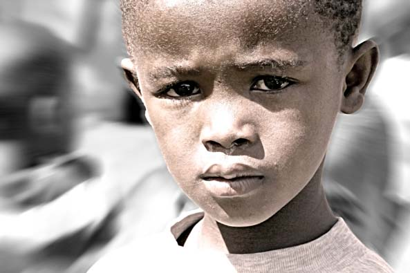 african-sad-child
