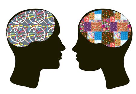 23856028-gehirn-und-denken-konzept-von-mann-und-frau-psychologie-ansatz