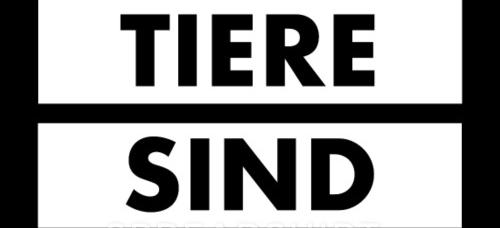 tiere-sind-kein-essen-schwarz-auf-weiss-maenner-premium-t-shirt